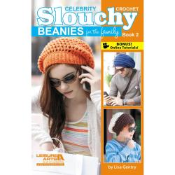 Leisure Arts - Slouchy Beanies For The Family Book 2