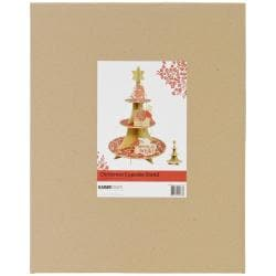 Beyond The Page MDF Christmas Cupcake Stand - 12.5 X12.5 X18