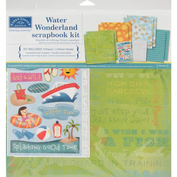 Water Wonderland Page Kit 12 X12 -