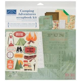 Camping Adventures Scrapbook Page Kit 12 X12 -