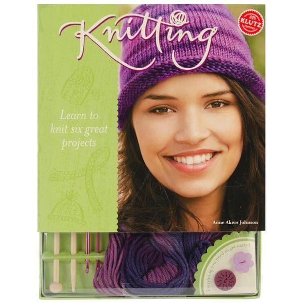 Knitting Book Kit -