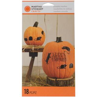 Classic Halloween Pumpkin Transfers 18/Pkg - Mice