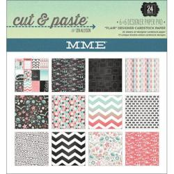 Cut & Paste Flair Paper Pad 6 X6 24/Sheets -