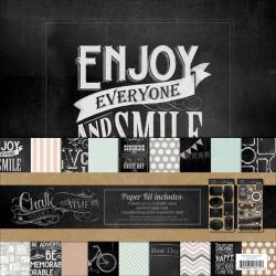 Chalk Studio Paper & Accessories Kit 12 X12 -