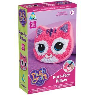Plush Craft Purr-Fect Pillow Kit -