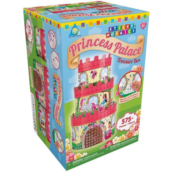 Sticky Mosaics Kit - Princess Palace Treasure Box