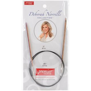 Deborah Norville Fixed Circular Needles 32 - Size 3/3.25mm