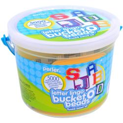 Perler Bucket O' Beads Fused Bead Kit - Letter Lingo