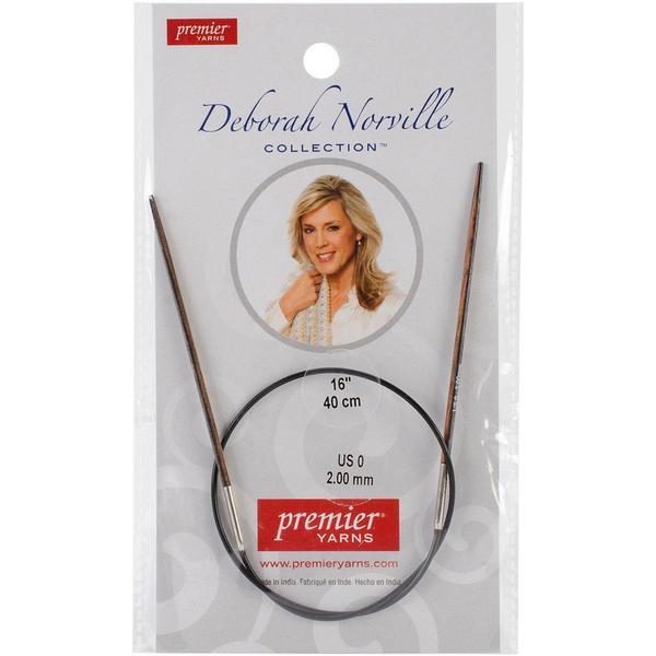 Deborah Norville Fixed Circular Needles 16 - Size 0/2mm