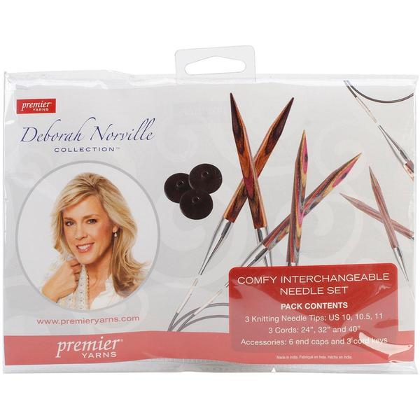 Deborah Norville Interchangeable 10, 10.5, 11 Needle Tips Set