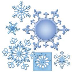 Spellbinders Shapeabilities Dies - 2013 Snowflake Ornament