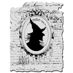 Stampendous Halloween Cling Rubber Stamp - Mirror Mirror