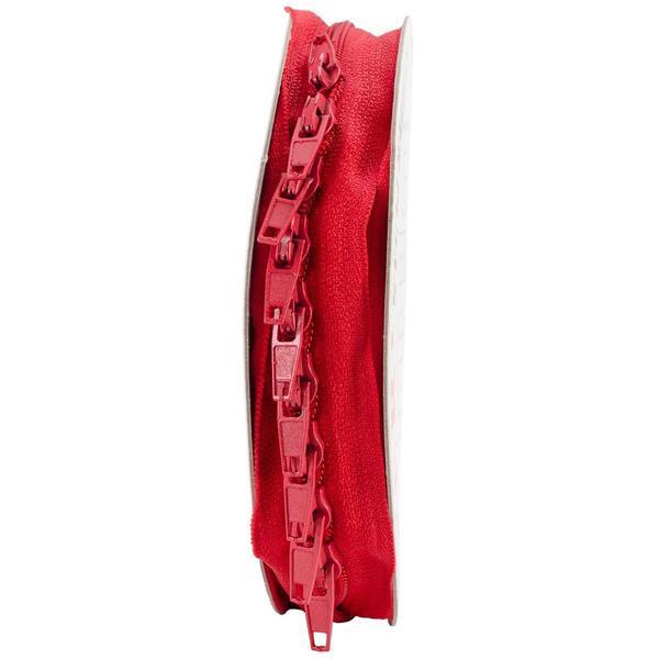 Make-A-Zipper Kit 5-1/2yd - Red