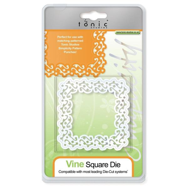 Simplicity Die Cutting Templates - Vine Square