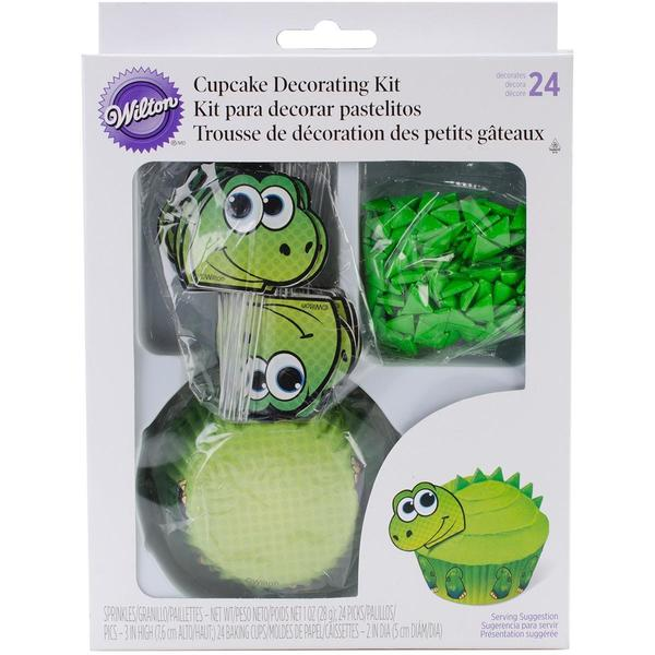 Cupcake Decorating Kit Makes 24 - Dinosaur