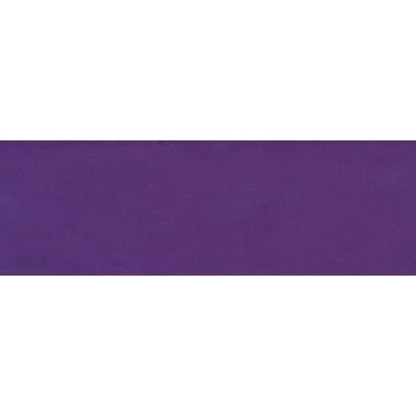 Single Fold Satin Blanket Binding 2 4-3/4 Yards - Purple