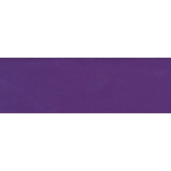 Single Fold Satin Blanket Binding 2 4-3/4 Yards - Purple