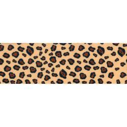 Single Fold Satin Fancy Blanket Binding 2 4-3/4 Yards - Leopard