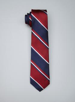 Ben Sherman Striped Silk Tie
