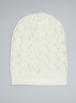 David & Young Fashion Knit Slouch Hat