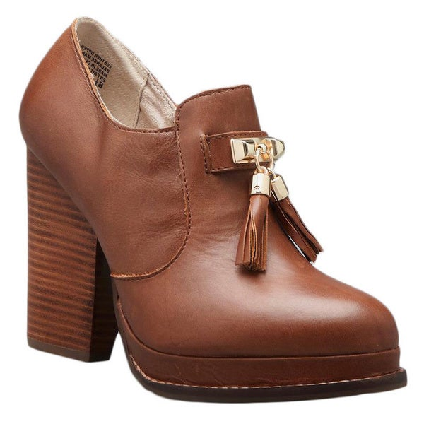 Seychelles Hijinks Leather Tassel Ankle Bootie