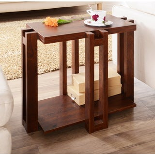 Furniture of America Esseli Rectangular End Table