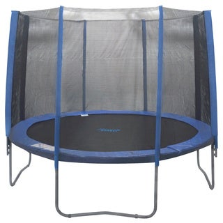 15-foot Trampoline 8-pole Enclosure Safety Net Round Frames