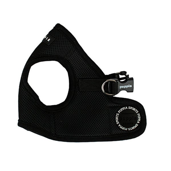 Puppia Black Soft Vest Harness