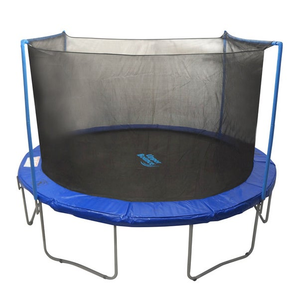 Trampoline 12 ft. Round, Dual-arch Replacement Enclosure Safety Net with Sleeves (As Is Item)