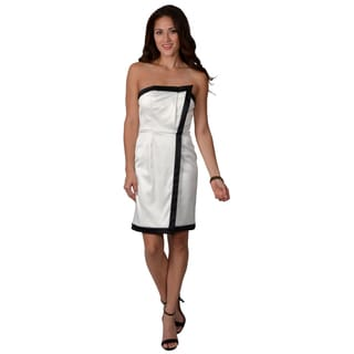 Vince Camuto Women's Strapless Tuxedo Dress