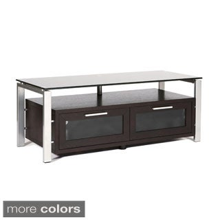 Wood/Glass 50-inch TV Stand