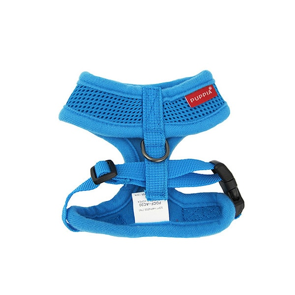 Puppia Blue Soft Harness