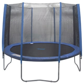 14-foot 8-pole Trampoline Enclosure Net for Round Frame