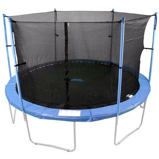 14-inch 6-pole Trampoline Safety Net For Round Frame (Poles Not Included)