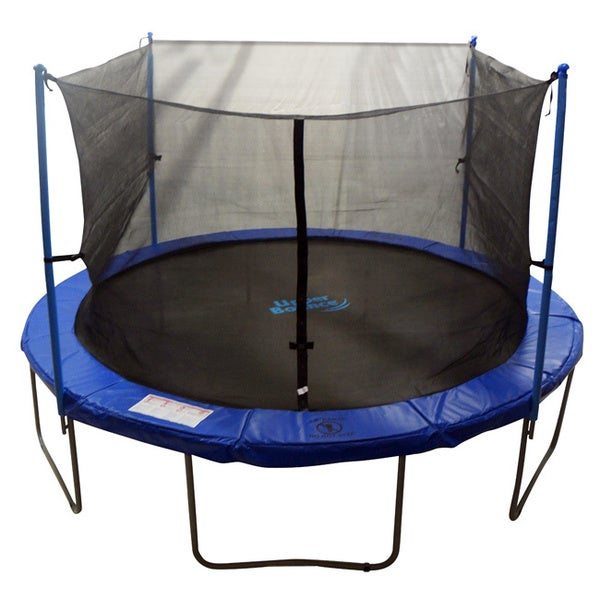 14-inch 4-pole Trampoline Safety Net Round Frame (Poles