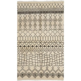Safavieh Hand-knotted Loft Cream/ Brown New Zealand Wool Area Rug (9' x 12')