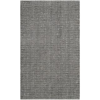 Safavieh Hand-woven Natural Fiber Light Grey Jute Rug (2'6 x 4')