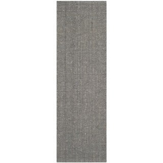 Safavieh Hand-woven Natural Fiber Light Grey Jute Rug (2'6 x 8')