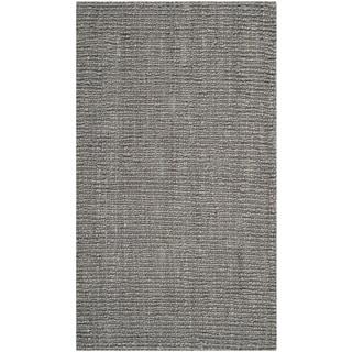 Safavieh Hand-Woven Natural Fiber Light Grey Thick Jute Rug (3' x 5')