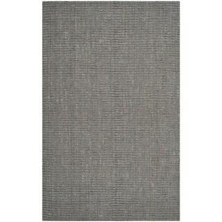 Safavieh Hand-woven Natural Fiber Light Grey Jute Rug (5' x 8')