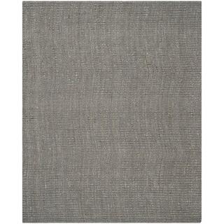 Safavieh Hand-woven Natural Fiber Light Grey Jute Rug (9' x 12')