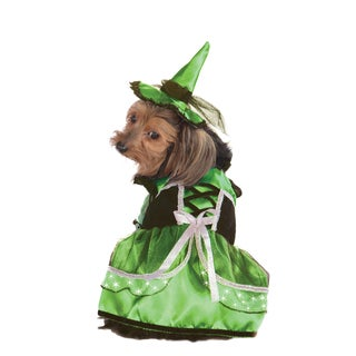 Rubies Neon LED Witch Pet Costume