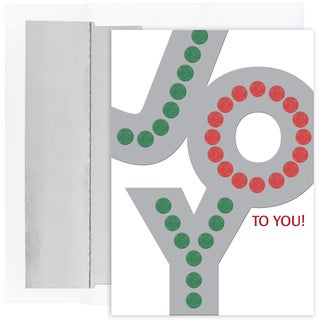 Joy Boxed Holiday Cards
