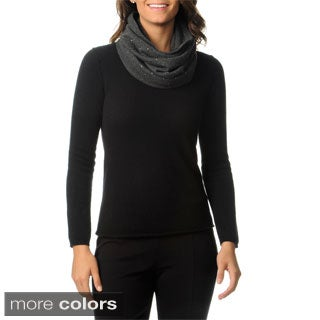 Ply Cashmere Women's Sequined Cashmere Snood