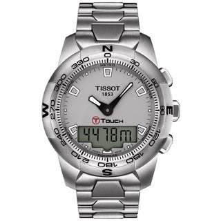 Tissot Men's T047.420.11.071.00 'Tactile' Stainless Steel Multifunction Watch