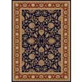 Centennial Navy/ Merlot Red Traditional Area Rug (8'9 x 12'3)