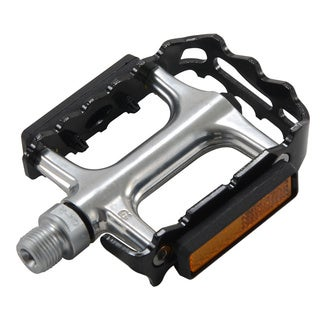 Alloy Black/ Chrome Bike Pedal