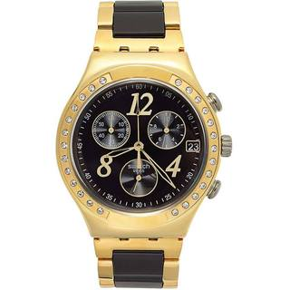 Swatch Women's 'Irony' YCG405G Two-tone Swiss Quartz Watch