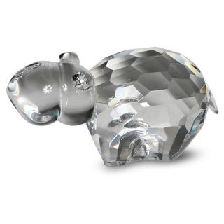 Crystal Florida Crystal Hippo Figurine