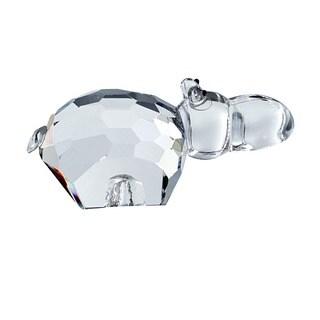 Crystal Florida Crystal Hippo Figurine
